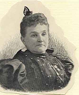 Frances Montayne Worthy Grand Matron 1896 - 1897