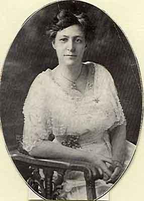 Grace E. Barthold Worthy Grand Matron 1916 - 1917