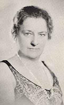Louise C. Lindeman Worthy Grand Matron 1932 - 1933