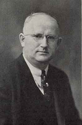 Lehman P. Gilmore Worthy Grand -Patron 1937 - 1938