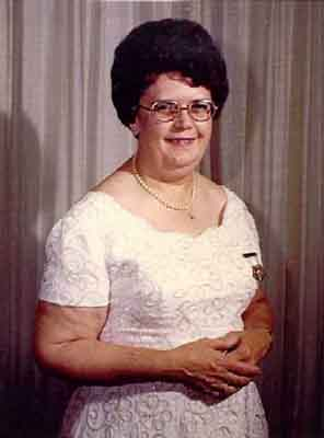 Agnes L. Eunson Worthy Grand Matron 1974 - 1975