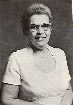 Martha L. Breakiron Worthy Grand Matron 1978 - 1979