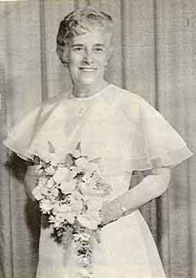 E. Ruth Dubec Worthy Grand Matron 1979 - 1980
